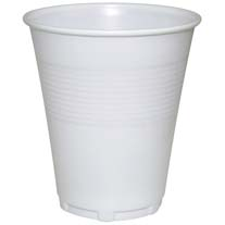 Plastic Water Cups 8oz carton of 1000