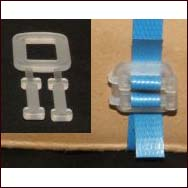Plastic Buckles 15mmx1000 per pack