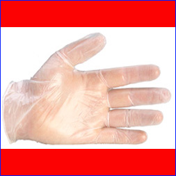 Low Powder Vinyle Gloves Pack of 1000