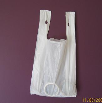 Plastic Shopping Bags (Medium)